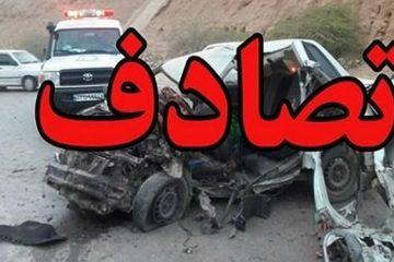 تصادف در محور فیروزکوه ۴ کشته و ۳ مجروح برجای گذاشت