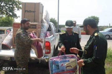 کاروان کمکهای اهدایی مردم دماوند به «سیمرغ» رسید+تصاویر