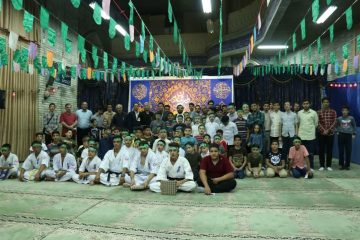 مراسم جشن عید غدیر کانون فرهنگی مسجد جامع دماوند+ تصاویر