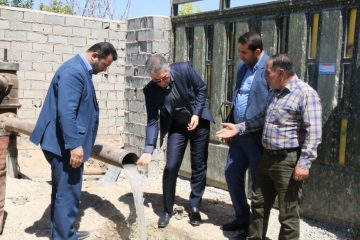 بهرهبرداری از طرح تأمین آب شرب روستای «وادان» تا پایان شهریور