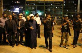 حضور مسئولان در جمع عزاداران شهرک توحید دماوند+ تصاویر