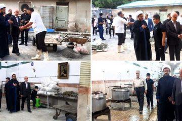 دیدار مسؤولان با خادمان حسینی در محلات شهر دماوند+ تصاویر