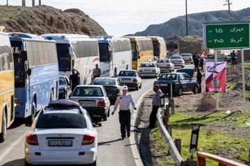«واژگونی تریلی» علت ترافیک سنگین در محور ایلام به مهران