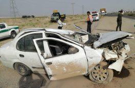 واژگونی خودرو در محور دماوند – فیروزکوه ۳ کشته برجا گذاشت