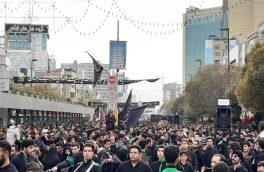 فیلم| میدان فلکه آب مشهد؛ جلوهگاه شکوه عزاداران دماوند