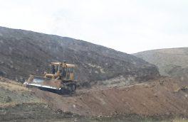 توقف عملیات خاکبرداری و تخریب ۵ مورد دیوارکشی غیرمجاز در وادان+ تصاویر