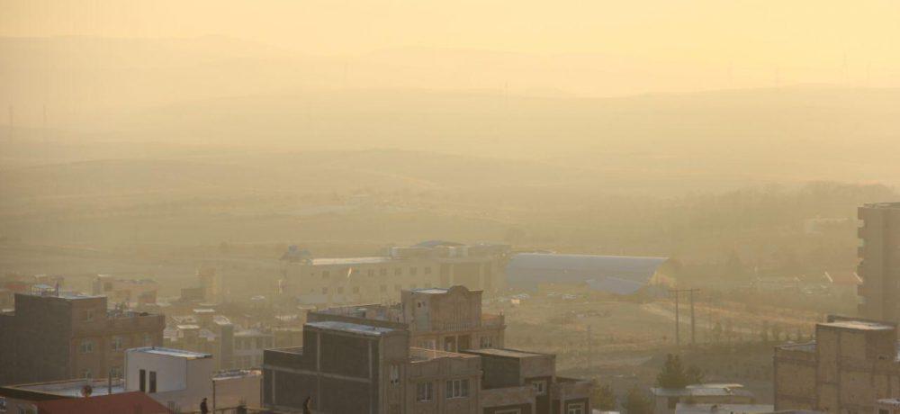 آلودگی در پاکترین آسمان استان تهران!