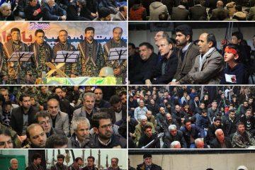 بیست و سومین یادواره شهدای شهر کیلان/ یادبود سردار دلها در کیلان+ تصاویر
