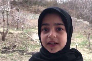 فیلم| درخواست کودکانه یک دختر دماوندی داغدار از کرونا