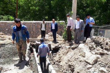 بازدید اعضای شورای اسلامی از پروژههای عمرانی شهر کیلان