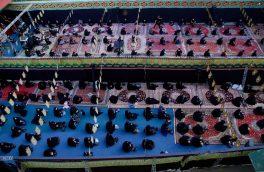 فیلم| یک دهه عزاداری در روزهای کرونایی دماوند/ مسئولان: پروتکلها رعایت شد