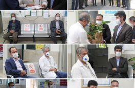 تجلیل از پزشکان شهر کیلان به مناسبت روز پزشک
