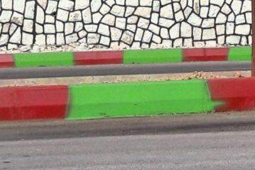 ماجرای رنگهای جداول بلوار شورای شهر دماوند چیست؟+ تصاویر