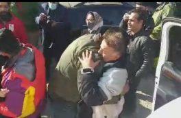 ۵ کوهنورد مفقود شده در زرینکوه دماوند نجات یافتند