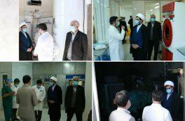 تامین دستگاههای جدید اکسیژنساز و ژنراتور برق بیمارستان سوم شعبان دماوند