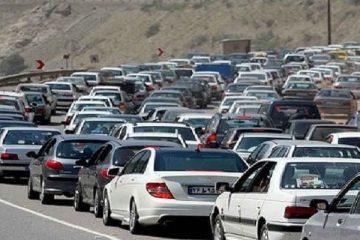 ترافیک سنگین در محور دماوند – فیروزکوه