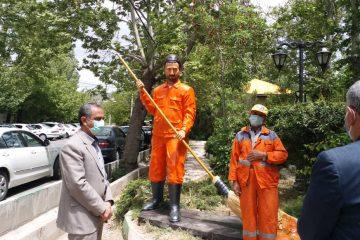 تندیس پاکبان در شهر دماوند رونمایی شد