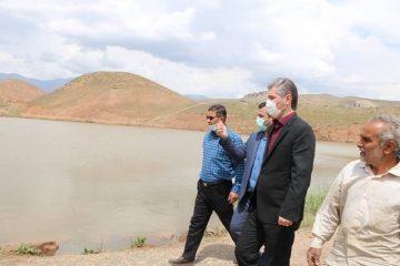 تخلیه آب سد خاکی زیارت برای جلوگیری از خطرات احتمالی/ وضعیت سد خاکی رصد میشود