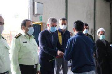تجلیل از کارگران از شرکت البا گاز دماوند