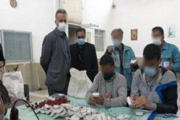 ۴ مددجوی ندامتگاه دماوند آزاد شدند