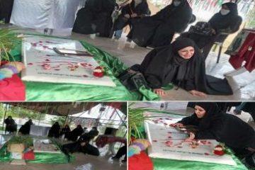 اجرای نمایش گلزخم در گلزار شهدای گمنام شهرک فرهنگیان دماوند