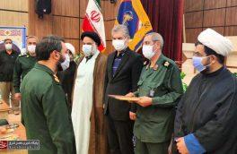 «سرهنگ غلامرضا نجفی» فرمانده ناحیه مقاومت بسیج دماوند شد